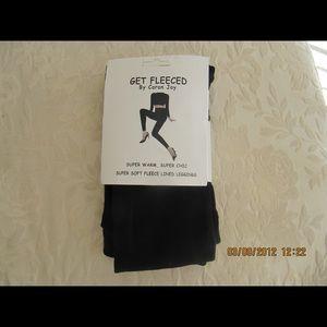 Fleece lined leggings xl new